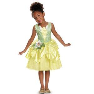 NEW Disney Princess & The Frog Tiana Child Costume